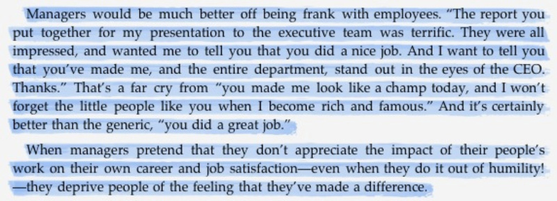 managers should be frank